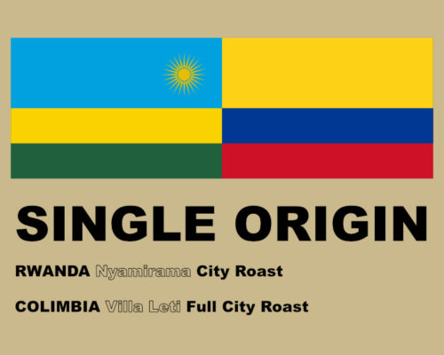 SINGLE ORIGIN COFFEE 2017 10月