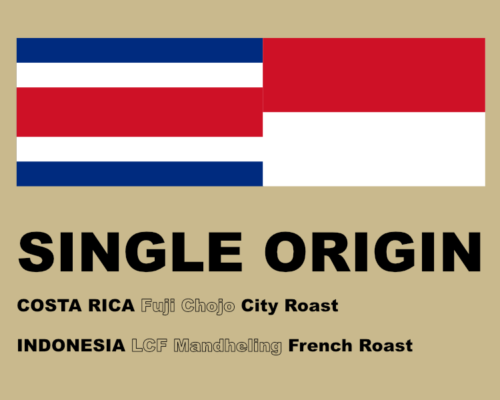 SINGLE ORIGIN COFFEE 2018 1月