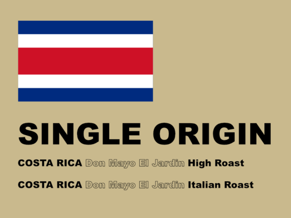 SINGLE ORIGIN COFFEE 2018 3月