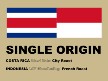 SINGLE ORIGIN COFFEE 2018 5月