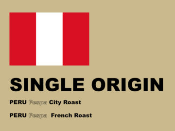 SINGLE ORIGIN COFFEE 2018 6月