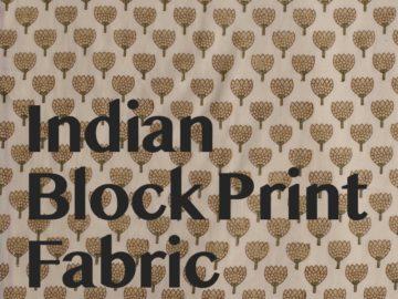 インドの布展